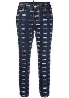 Dsquared2 Icon cropped jeans