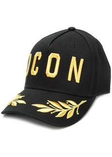 Dsquared2 'ICON' embroidered cap