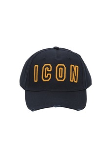 Dsquared2 Icon Frame Cotton Baseball Hat