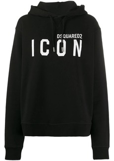 Dsquared2 Icon logo hooded sweatshirt