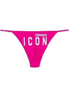 Dsquared2 Icon logo print bikini bottoms