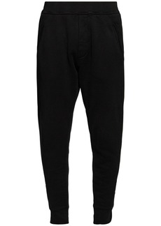 Dsquared2 Icon Logo Print Cotton Jersey Sweatpants