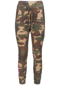 Dsquared2 Icon Logo Print Cotton Sweatpants