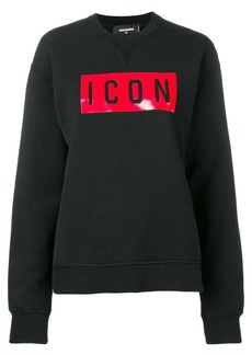Dsquared2 Icon patch sweatshirt