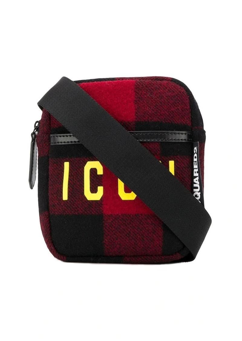 Dsquared2 Icon plaid belt bag