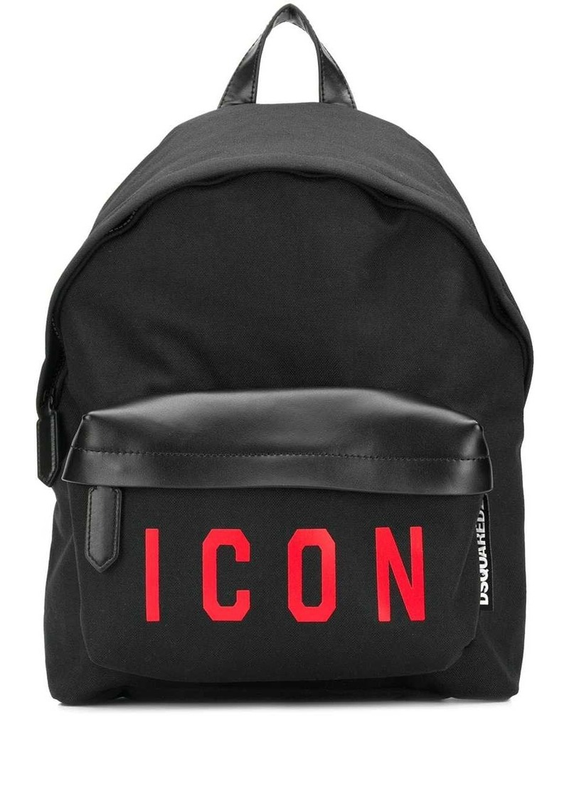 Dsquared2 Icon print backpack