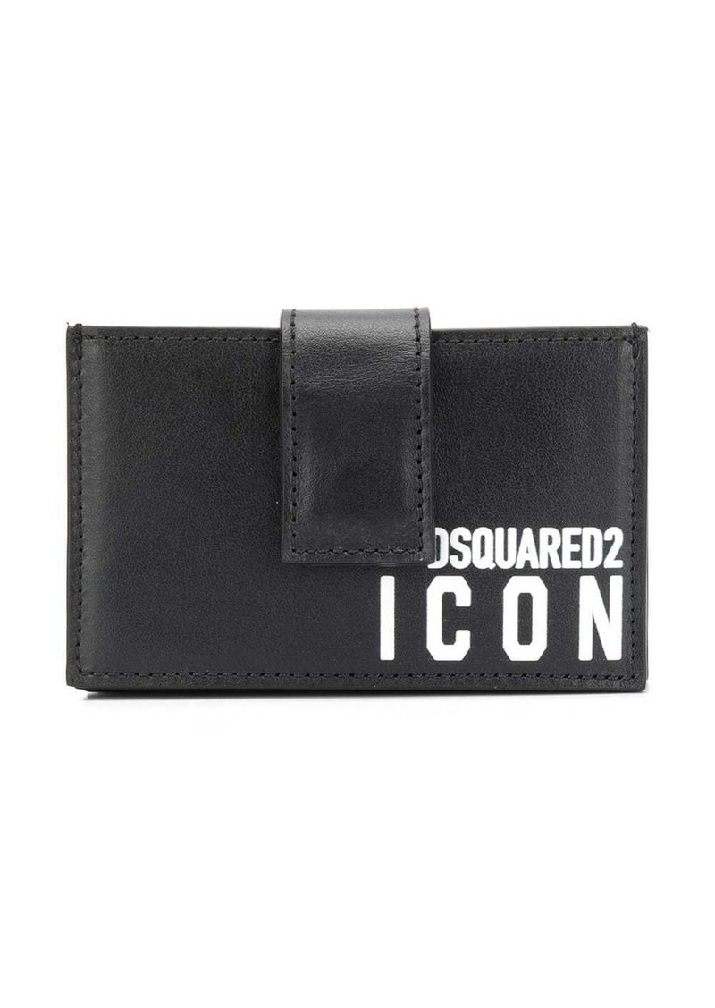 Dsquared2 Icon-print cardholder