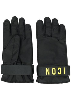 Dsquared2 Icon print gloves