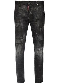 Dsquared2 Icon Skater Wax Cotton Denim Jeans