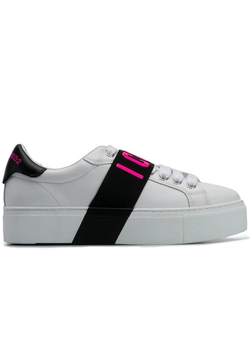 best service 6516f 049f8 Icon T-strap sneakers