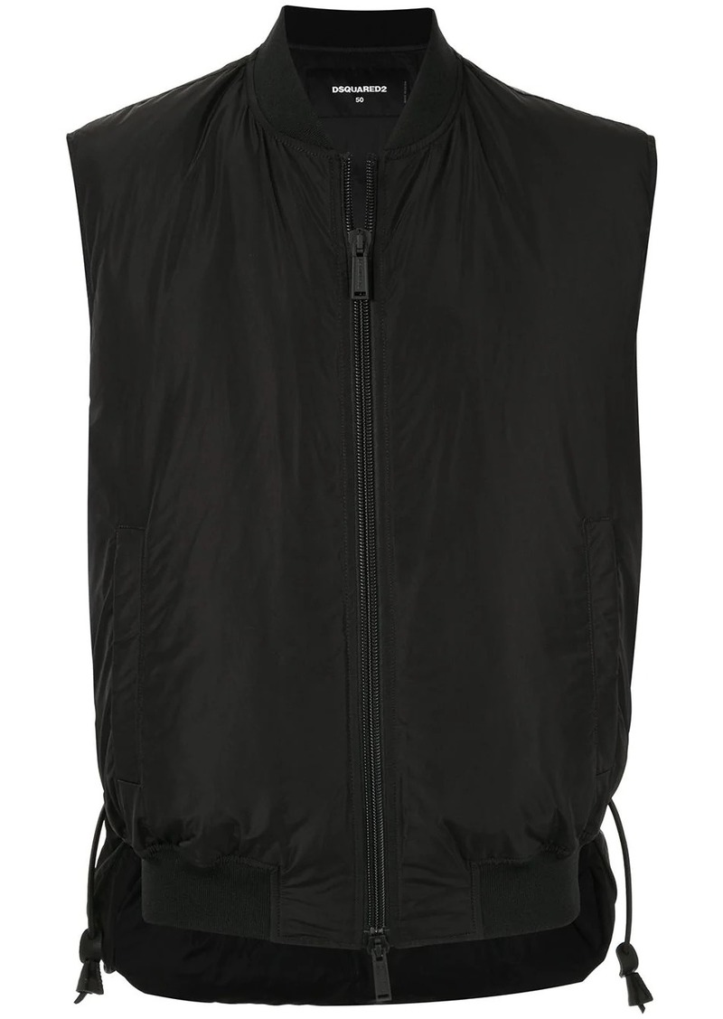Dsquared2 Icon zipped-up gilet