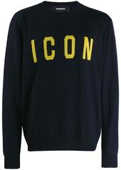 Dsquared2 intarsia knit jumper
