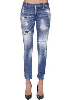 Dsquared2 Jennifer Cropped Denim Jeans