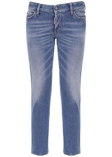 Dsquared2 Jennifer Crop Denim Skinny Jeans