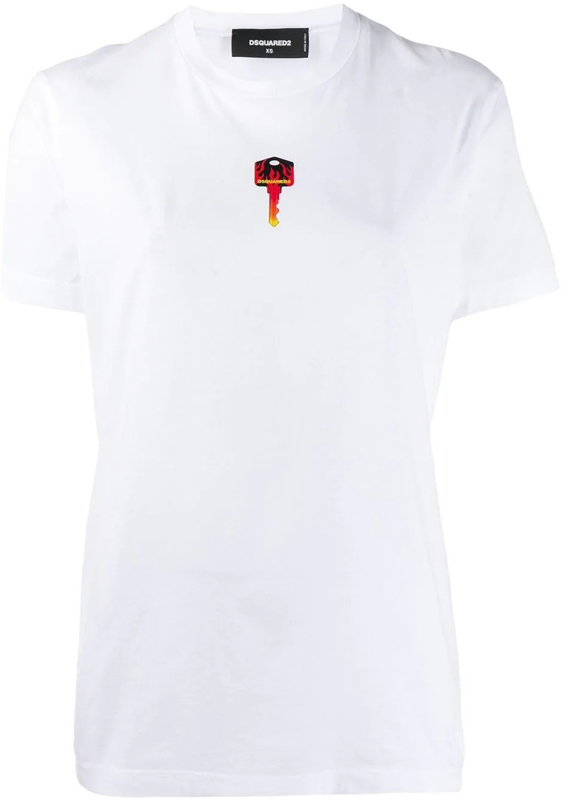 Dsquared2 Key logo print T-shirt