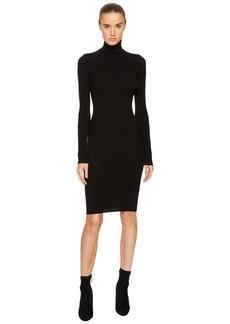 Dsquared2 Knit Turtleneck Long Sleeve Dress