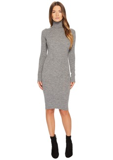 Dsquared2 Knit Turtleneck Long Sleeve Dress