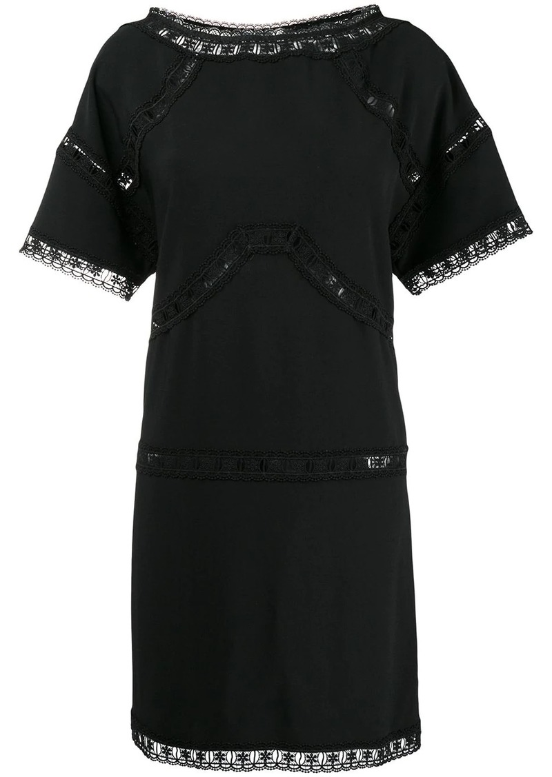 Dsquared2 lace insert dress