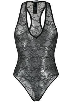 Dsquared2 lace racerback bodysuit
