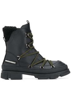 Dsquared2 lace-up combat boots