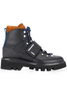 Dsquared2 lace-up trekking boots