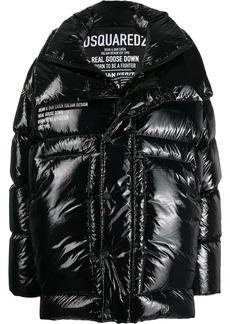 Dsquared2 layered padded jacket