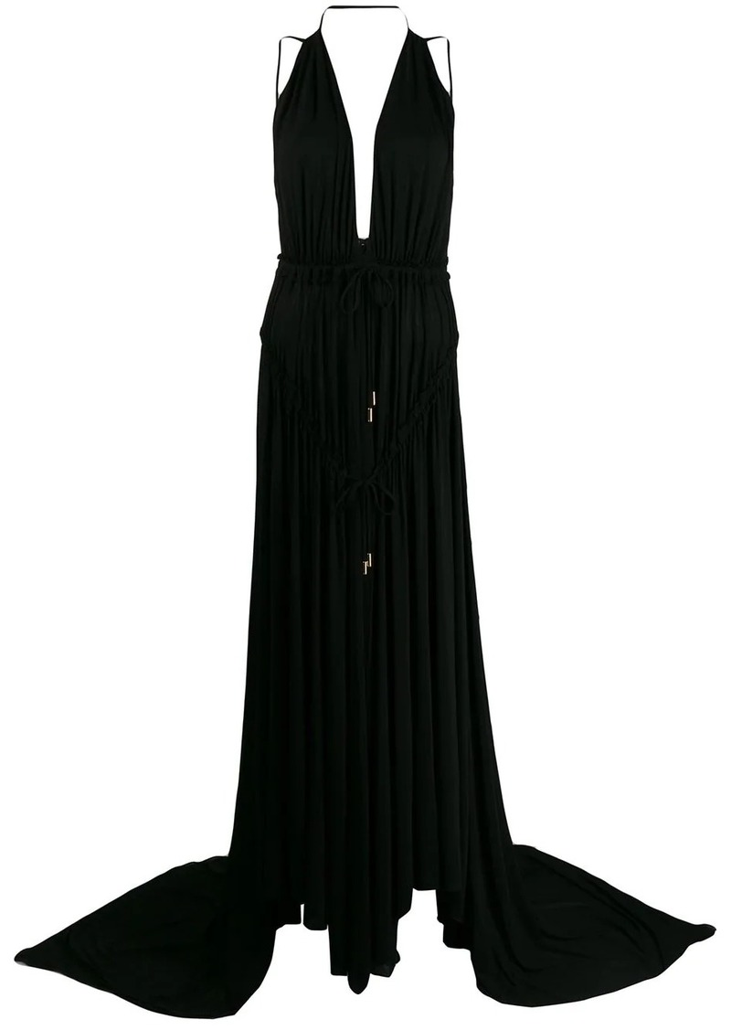 Dsquared2 Light Crepe Long Dress
