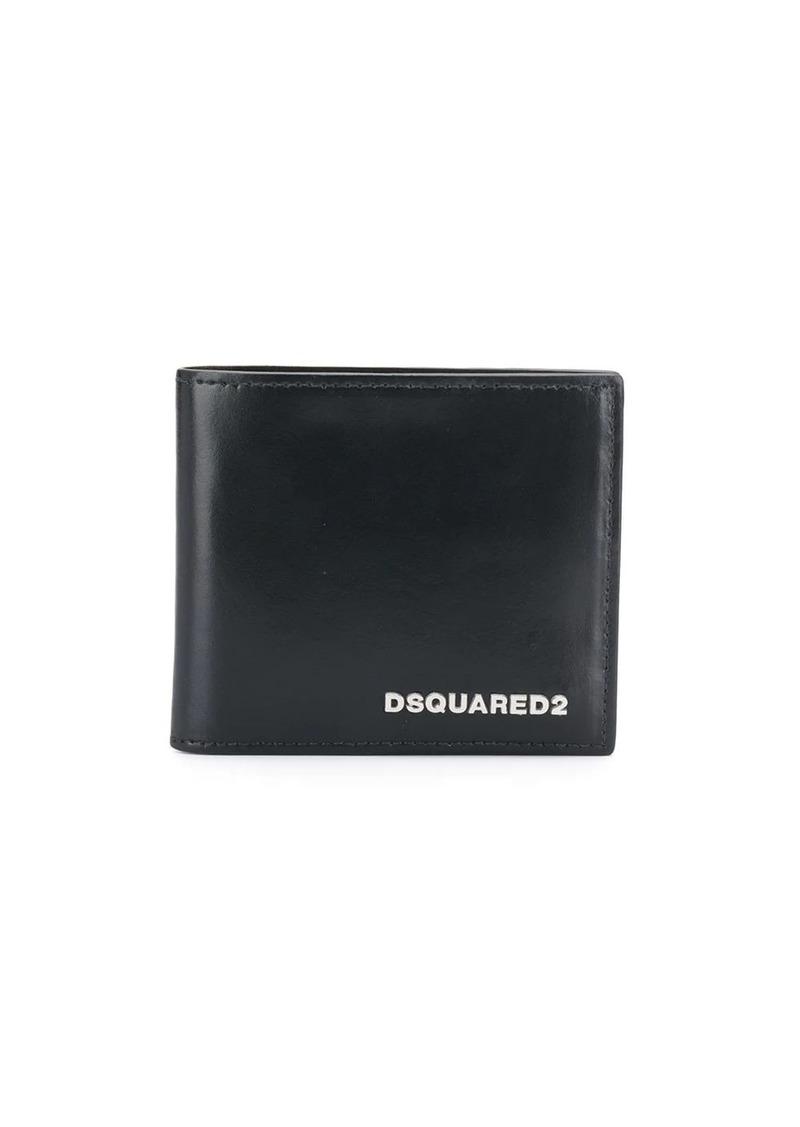 Dsquared2 logo bifold wallet