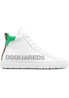 Dsquared2 logo-detail high-top sneakers