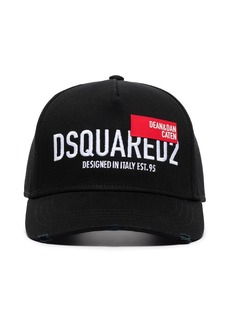Dsquared2 logo-embroidered baseball cap