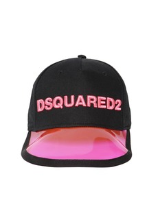Dsquared2 Logo Embroidered Cotton Baseball Cap