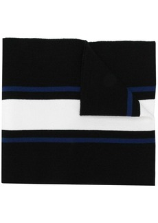 Dsquared2 logo embroidered scarf