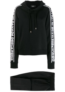 Dsquared2 logo embroidered tracksuit