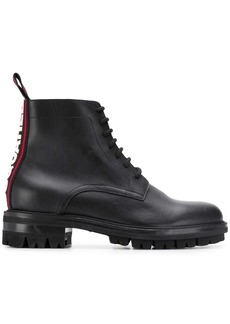 Dsquared2 logo lace-up boots