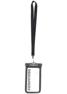 Dsquared2 logo phone pouch