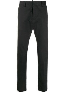 Dsquared2 logo plaque tailored trousers