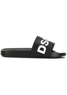 Dsquared2 logo pool slides