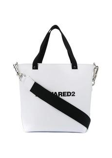 Dsquared2 logo print bucket bag