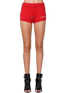 Dsquared2 Logo Print Jersey Shorts