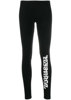 Dsquared2 logo print leggings
