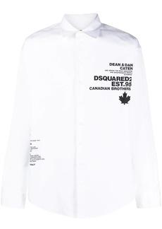 Dsquared2 logo-print shirt