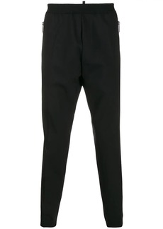 Dsquared2 logo print tapered trousers