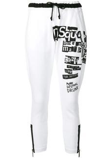 Dsquared2 logo print track trousers