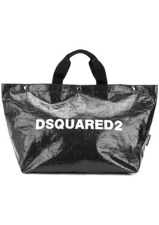 Dsquared2 logo printed tote bag medium