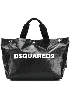 Dsquared2 logo printed tote bag small