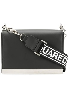 Dsquared2 logo strap crossbody bag