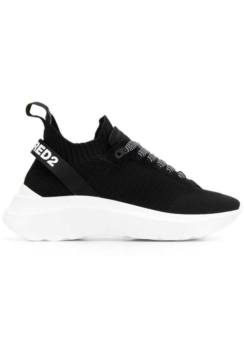 Dsquared2 logo strap sneakers