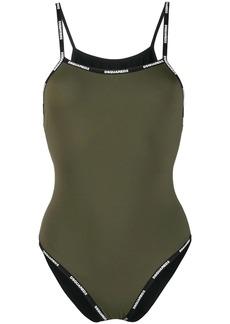 Dsquared2 logo strap swimsuit