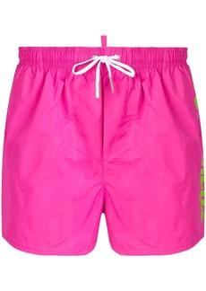 Dsquared2 logo swim shorts