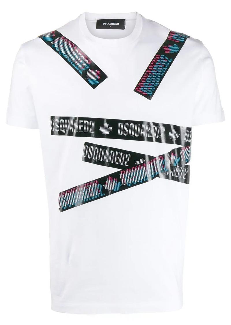 Dsquared2 logo tape T-shirt